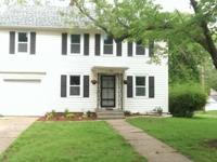 2 story colonial style home has been updated
