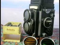 ROLLEIFLEX 2.9 F KIND II - BAY III.  1:2.8 f=80 mm