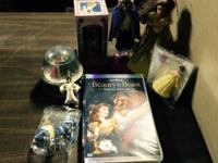 Beauty and the beast collectible VHS movie and