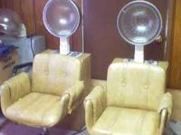 I have 3 hair dryer chairs for sale all are in good