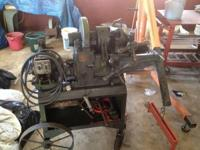 I have a Beaver brand pipe threading machine up for