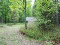 Well wooded parcel near Wixom Lake. Great camping or