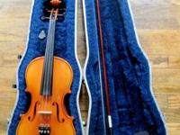"""Becker Violins are hand made Crafted in Romania from"