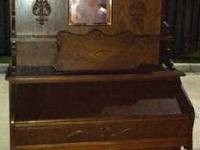 BECKWITH PUMP ORGAN with stool in very good shape Made