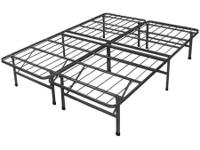 Type:Furniture Black metallic bed frame queen size 3