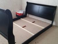 Hi,.  I'm offering a bed frame. I bought it new, used