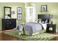 Choose between black or white...Twin headboard,
