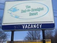 BED NO BREAKFAST RESORT REOPENING THIS SPRING CALL AT
