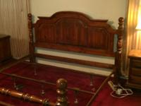 MOVING SALE!!! Location: Vicksburg, Ms King bed frame -