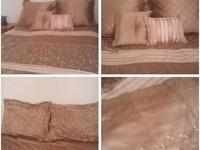 Complete Bed Set with matching window treatments 10