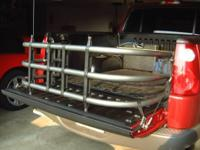 this is a brand new bed xtender made by steel horse.
