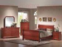1st. picture: Cherry 4pc Bedroom Set - $799 ALL SIZES -