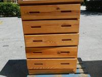 We are selling a used elegant Wooden Bedroom Dresser.