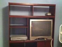 Bedroom entertainment center $25, 27inch T.V. $25. No