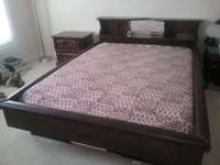 Broyhill company's solid wood Bedroom set includes
