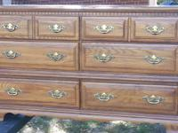 Miscellaneous bedroom furniture for sale: dresser with