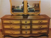 Beautiful French Provincial 5-Piece Full Size Bedroom