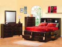 Hello  I am offering the 5 piece master bedroom
