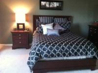 6 Piece Bedroom Set: Shermag Bourbon Street Collection