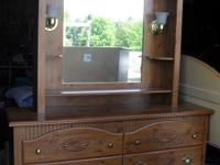 Matching headboard and metal frame (king, queen, or