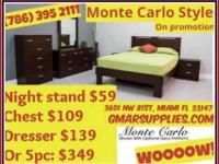 Selling 5 piece Bedroom Set for $349. For more