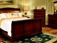 "Call:  solid mahogany king S""-curved headboard and"