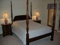 Beautiful Solid Cherry Bedroom Set. (Includes