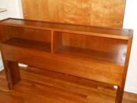 Bedroom suite consists of three pieces - a solid walnut