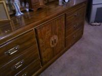 King Size Bedroom Suite - Headboard, 2 Night Stands,