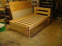 we custom make every bed to order we are making beds