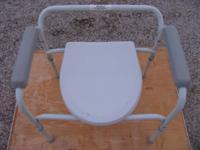 bedside commode seat more information:  email or  / or