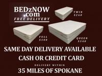 BEDzNOW.com FREE DELIVERY  SAME DAY DELIVERY