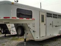 2008 BEE TRAIL MASTER 4 Horse Trailer. 22 amp 039 long