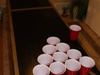 We can make you an awesome custom Beer Pong table. Just