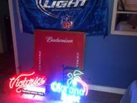 For Sale-various beer stuff..Corona Light Palm Tree