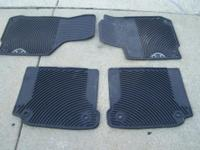 Beetle Floor Mats with Beetle Emblems Two front and two