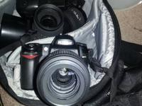 Selling a total photography kit. Nikon D80 video camera