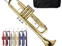 This is our surface lacquered beginner Trumpet Kitwhich