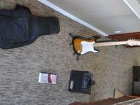 I'm selling an electric guitar beginner set which