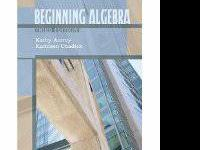 Beginning Algebra by Kathy Autrey ISBN