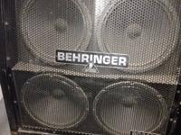 I'm offering a Behringer BG412S guitar taxi. As the