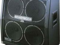 This is a Behringer 4x12 UltraStack. Hardly any wear,