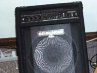 Behringer BXL900A 90W Bass Amp: $75 OBO. Call or text