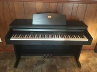 Like new Full size electric piano. Weighted keys. Not