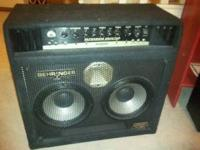 I have a Behringer Ultra Bass Bx4210A for sale. I'm a