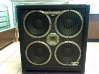 Behringer Ultra bass BB410. Bass Guitar Amplifier 4x10