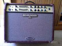 Behringer ACX1800 Ultracoustic guitar and vocal amp,