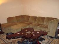 Nice Big Sectional couch for sale, about a year old but