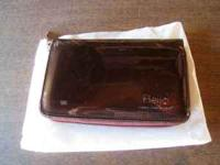 Up for sale is a Brown Beijo Clutch Purse. The clutch