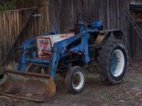 tractor runs good and has a strong loader. Need to sell